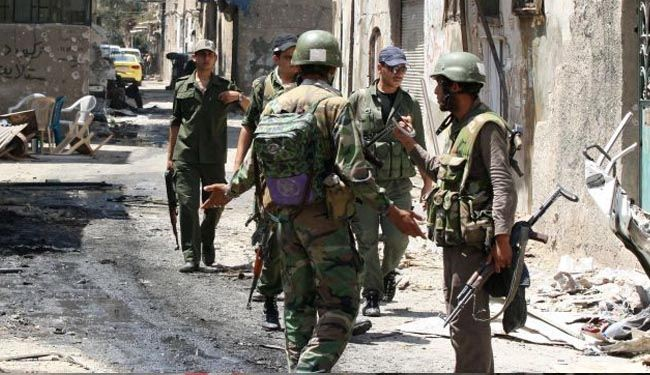 Syrian army kills at least 150 militants near Qalamoun