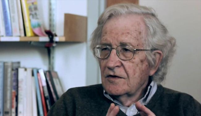 Chomsky: Rich countries racing toward disaster
