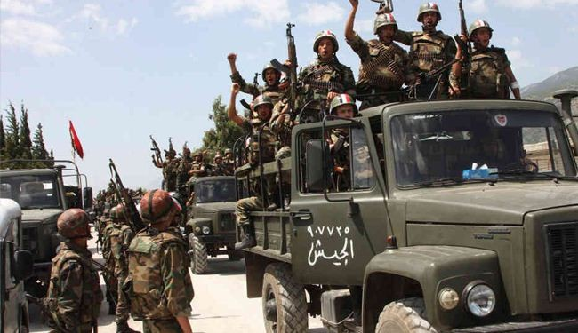 Syrian army improves steadily across the country