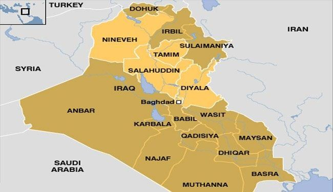 Iraqi government mulls formation of 3 new provinces