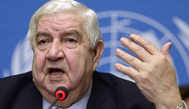 Muallem: Opposition didn't take the talks seriously