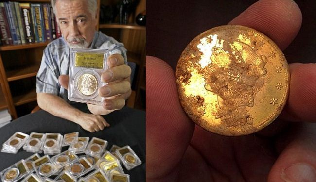 California couple finds $10mn of 19th century coins: Photos