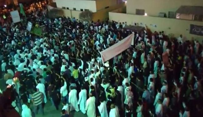 Thousands of Saudi mourners protest in Qatif