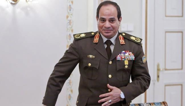 Egypt president gives military near absolute power