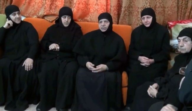 Abducted Syrian nuns are released