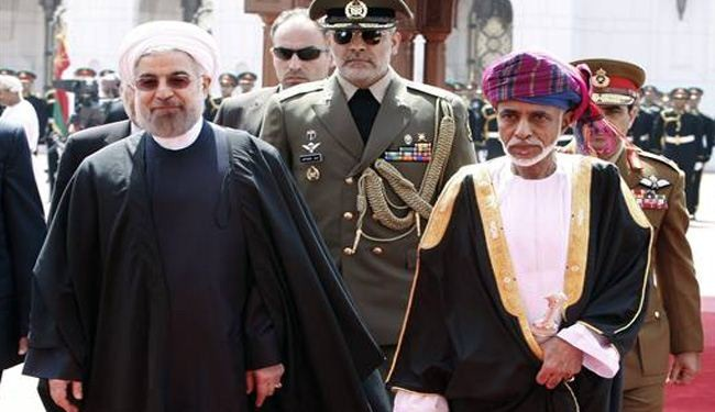 In Oman, Rouhani extends hand to Persian Gulf monarchies