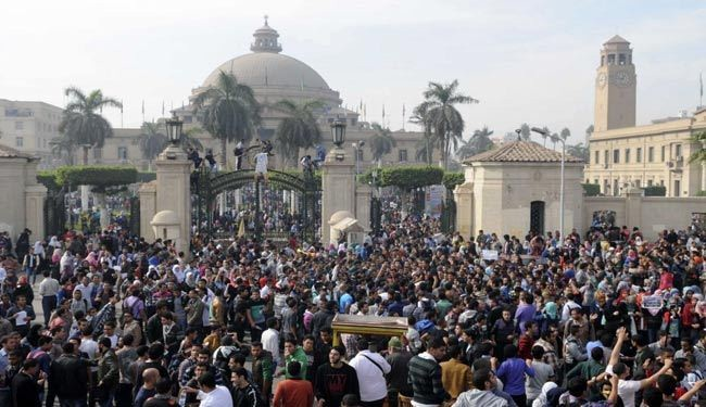 Two blasts hit Cairo U. in Egypt capital, kill one