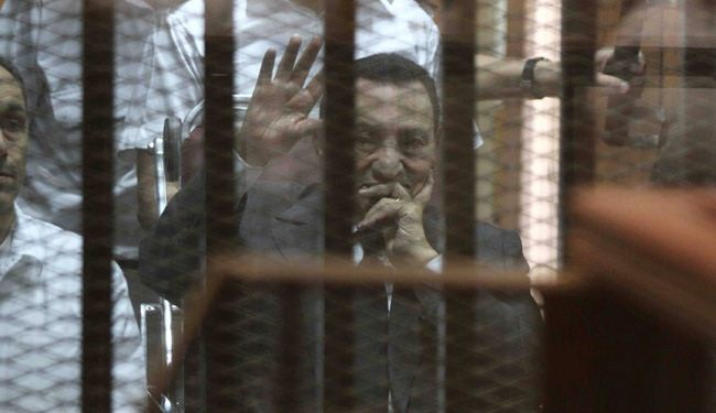Egypt's Mubarak convicted of graft, gets 3 years