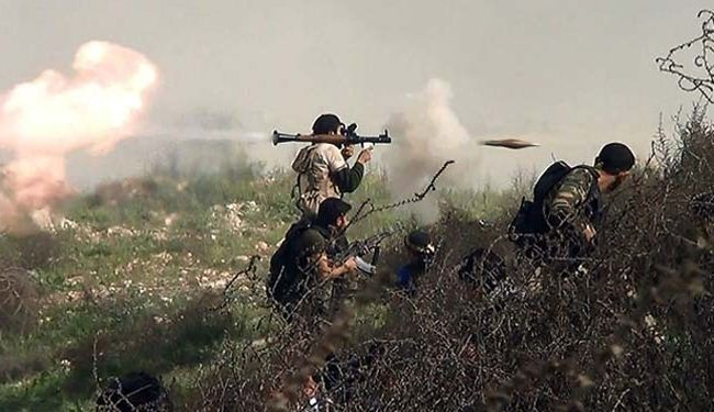 Syria infighting leaves 50 Takfiri terrorists dead