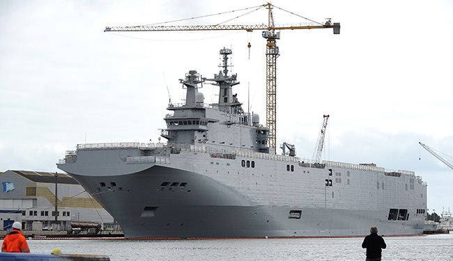 US urges France to sell Mistral warships to NATO, not Russia