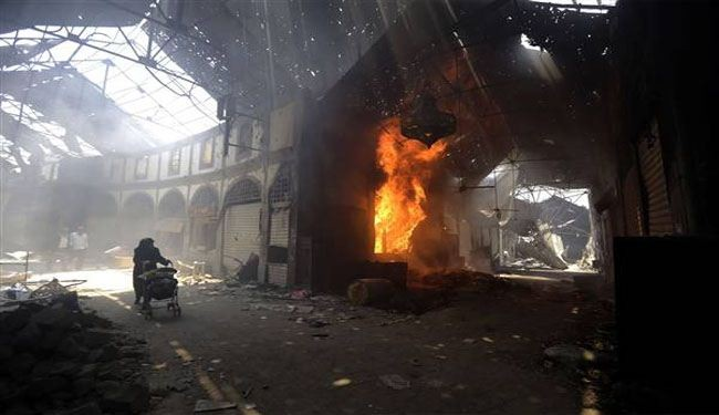 10 killed in truck bomb attack in Syria's Homs
