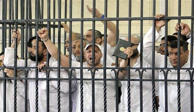 112 anti-government protesters jailed in Egypt