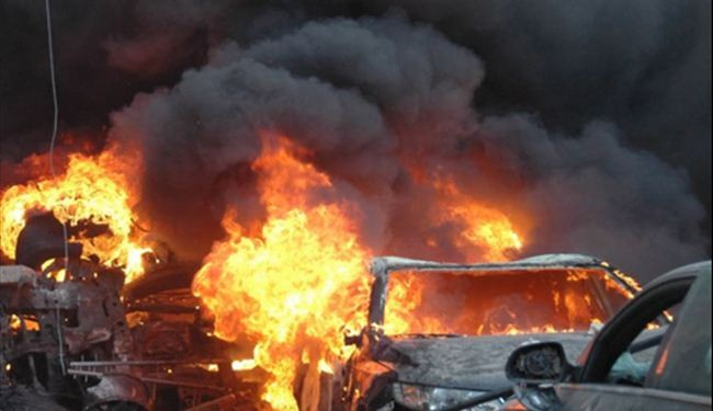 Car bomb kills seven Syrian civilians in Homs
