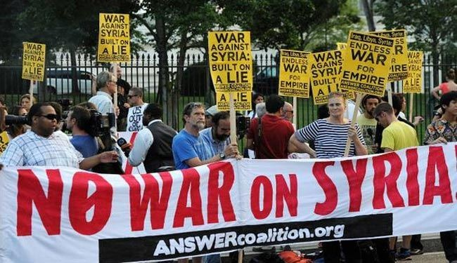 No new US-led war on Iraq: US anti-war activists