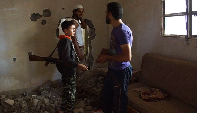 HRW slams militants for recruiting kids in Syria war