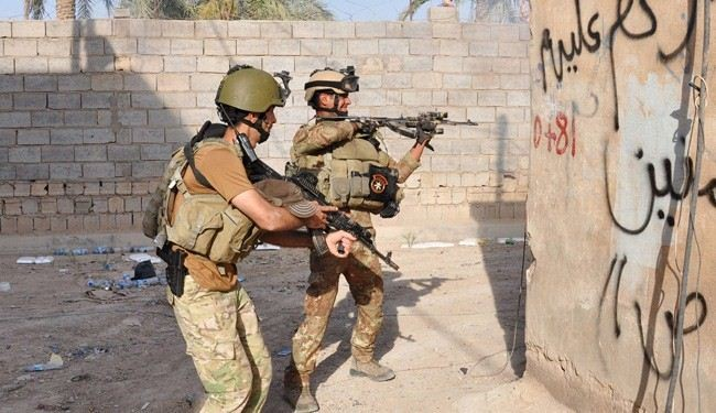Iraqi troops push ISIL terrorists out of major district of Baquba