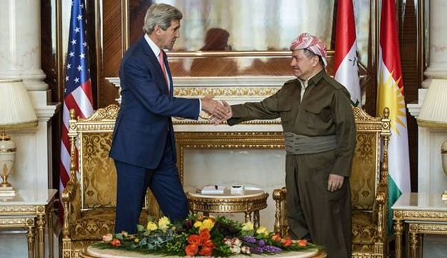 Kurds warn Kerry of 'new Iraq'