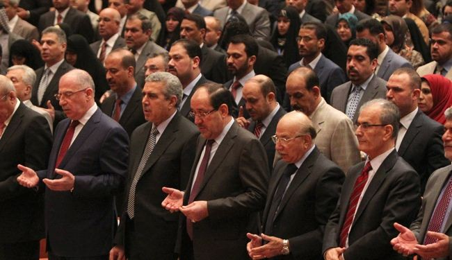 A half-hour parliament break leaves Iraq without new gov't