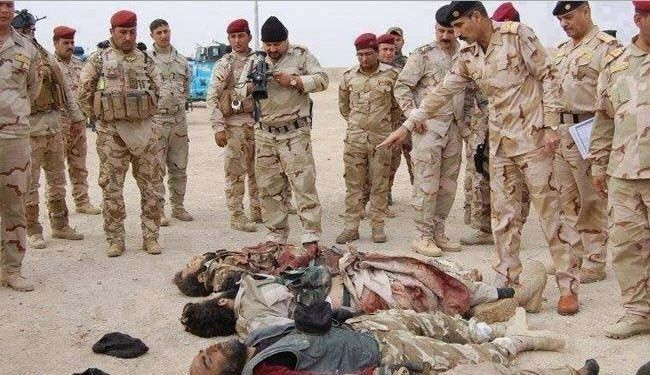 Iraq troops kill 150 ISIL terrorists in purging ops
