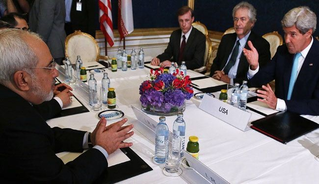 Kerry, Zarif turn to one-on-one talks over nuclear issue