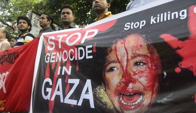 In photos: Worldwide protests against Israeli crimes in Gaza