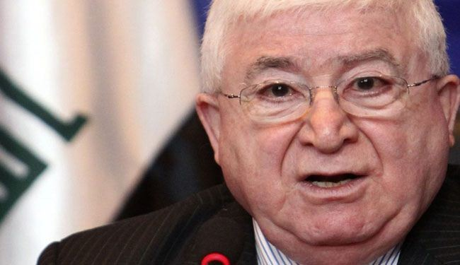 Kurds agree on Masum for Iraq president: Officials