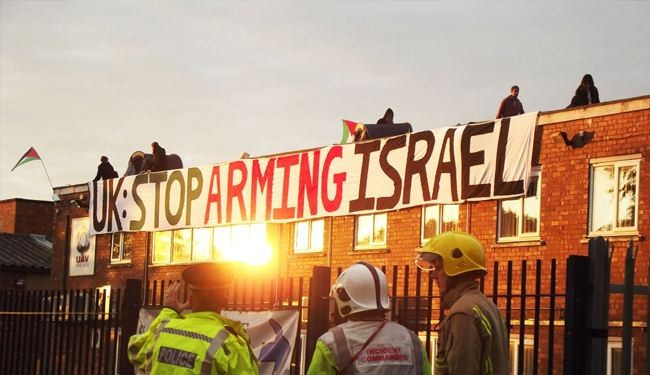 Israeli arms factory shut down by British pro-Palestine campaigners