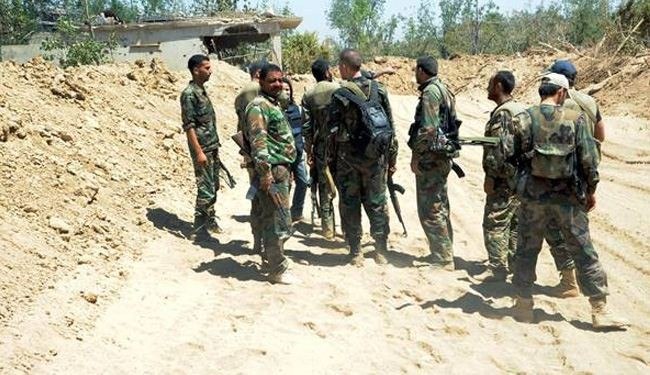Syrian army inflicts heavy losses on militants