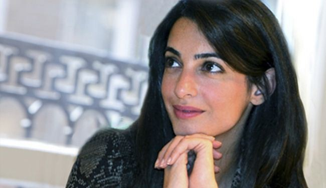 Clooney's fiancée Alamuddin refuses UN offer to probe Israeli Gaza crimes