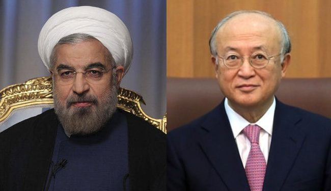 Rouhani, Amano to meet in Tehran over nuclear issue