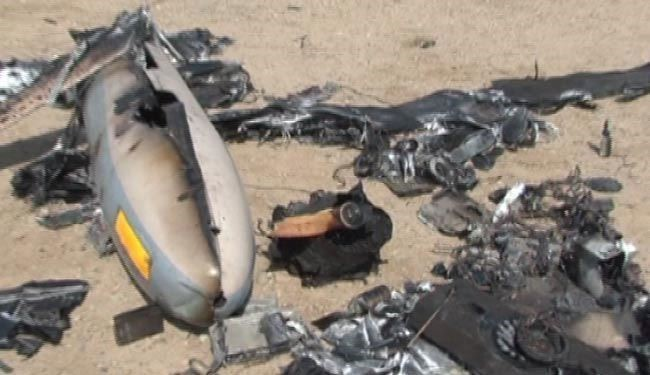 Israeli spy drone crashes near Baghdad airport