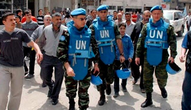 Syrian rebels attack UN peacekeepers in Golan Heights