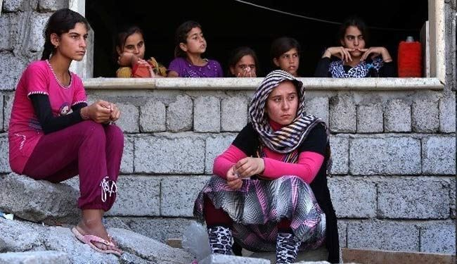 ISIL terrorists kidnap, sell female Izadi Kurds for $1000