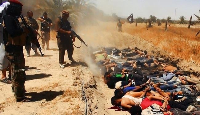 ISIL mass murdered  800 Iraqi soldiers: HRW