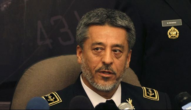Iran's Armed Forces Prepared to Thwart All Threats: Navy Commander