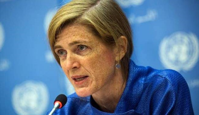 US won't bomb alone ISIL in Syria : Samantha Power