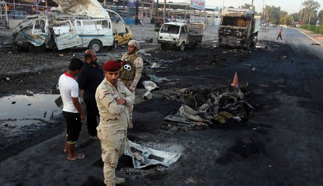 Blasts kill more than 21 in Iraq Capital