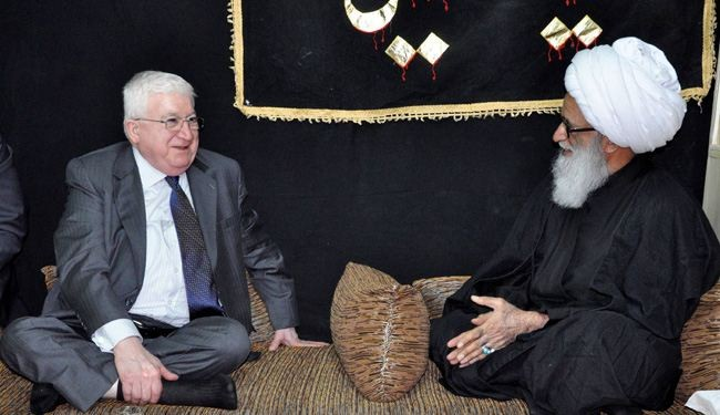 Masum and Maliki End Important Trip to Najaf and Tehran