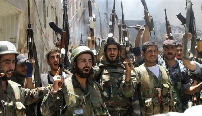 Syrian army makes further gains against ISIL militants