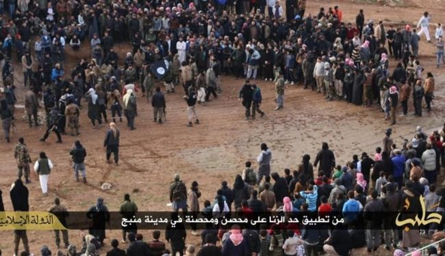 Photos Show ISIS Stoning a Couple and Beheading 4 Men