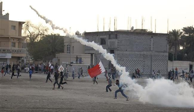 Bahrain Regime Forces Brutally Attack Peaceful Rally