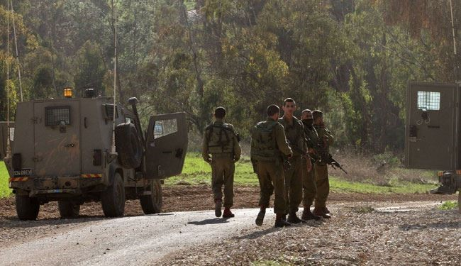 Missile attacks to Zionists Army in Occupied Shabba