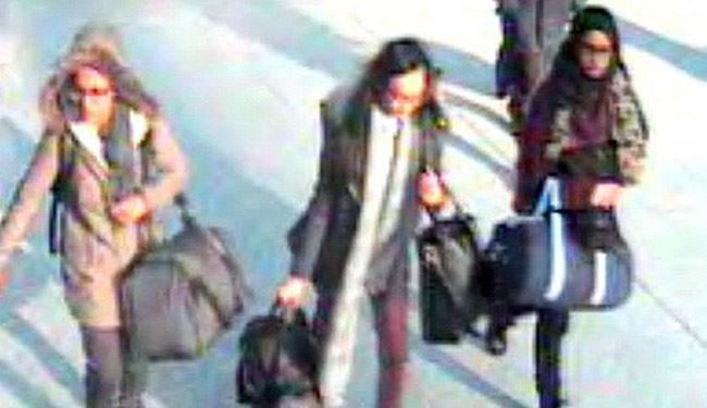 "Missing British Schoolgirls or ""jihadi brides"" Arrived in Raqqa"