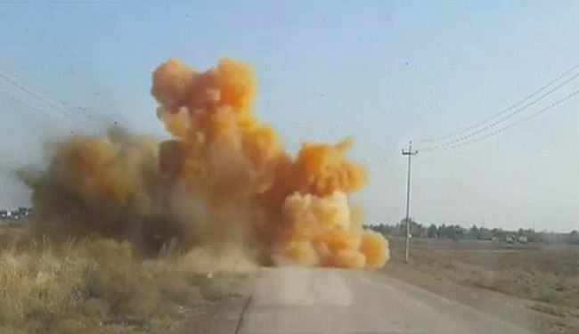 ISIS Using Chlorine Gas Roadside Bombs to Stop Iraqi advances