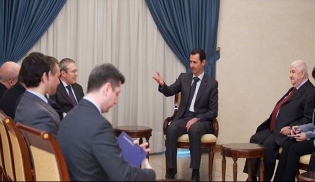 Assad Pledges to Push for Second Round of Syria Talks in Moscow