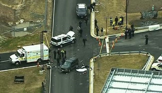 One Dead, One Hurt in Shooting at US Spy Agency