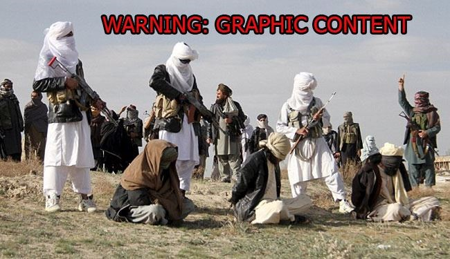 See How Taliban Executes Accused Murderer + Pics