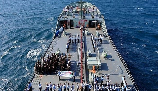 Iranian warships arrived in the Gulf of Aden