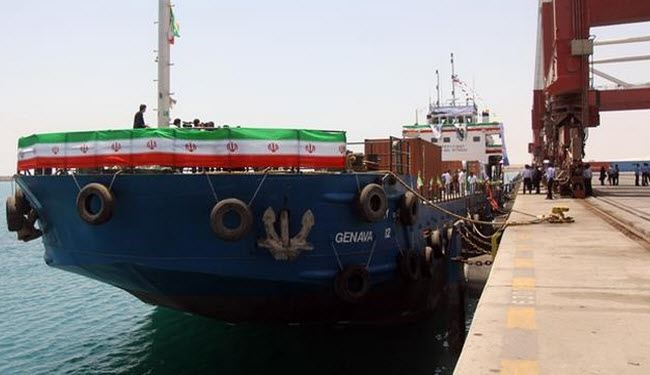 Iran has inaugurated a new shipping route to Oman