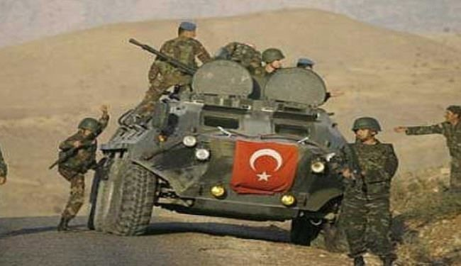 Turkey's Military Intervention on Syria Border
